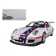 Porsche North Team America 911 GT3 CUP USA # 810 Museum Collection 1/18 by Welly 18033MB-GT-12A