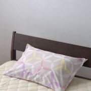 京都西川/七宝遊び柄の枕カバー