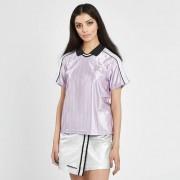 Mademe Dazzle Soccer Jersey Light Purple/White