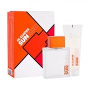 Jil Sander Sun Men confezione regalo Eau de Toilette 75 ml + doccia gel 75 ml per uomo