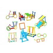 Beston® DIY Smart Sticks Creative Puzzle Toy Set (280 Pieces)