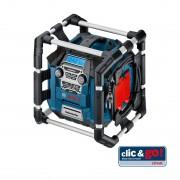 Bosch Baustellenradio GML 20, clic & go, ohne Akku und Ladegerät