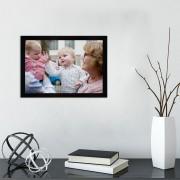 YourSurprise Cadre photo en verre - Noir - 30x21 cm