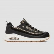 SKECHERS Uno wild streets sneakers zwart/wit dames Dames - zwart/wit - Size: 36
