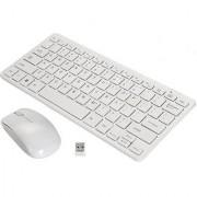 Terabyte TB-Wireless White Wireless Keyboard Mouse Combo(Mini)