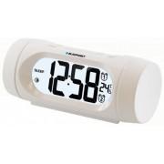 Ébresztőórás rádió beltéri hőmérő funkcióval, fehér, CR9WH