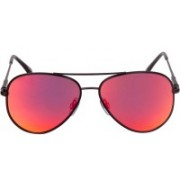 IDEE Aviator Sunglasses(Pink)