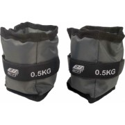 Set greutati fitness EB FIT pentru maini si picioare 2x0.5 kg 2 buc gri