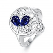 Anillo Women Ring 8-Plateado(CX)