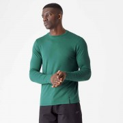 Myprotein Luxe klasické tričko s dlouhým rukávem - XL - Pine