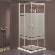 Box doccia scorrevole ad angolo 2702 da 77/81 cm in cristallo 6 mm