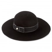 Kalap LIU JO - Cappello Tesa Larga A67231 T0300 Nero 22222
