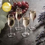 Комплект Чаши за Шотове – Шампанско (4бр.)