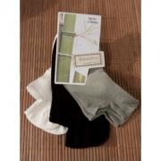 Chaussettes en bambou Invisibles (3 paires) - 35/38