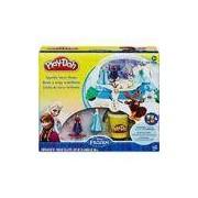 Conjunto Play-Doh Frozen Globo de Neve - Hasbro