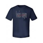 Louis Sayn Rundhals-Shirt Louis Sayn blau