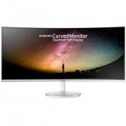 "Samsung C34f791 Curved Monitor Pc Display 34"" Uwqhd Classe C Colore Bianco"