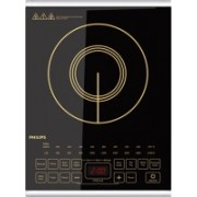 Philips HD4938 Induction Cooktop(Black, Touch Panel)