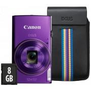 "Canon IXUS 285 fioletowy ""Essential Kit"""