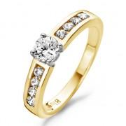 Blush Geelgouden Ring met Zirkonia maat 58