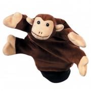 Papusa de mana Beleduc, textil, model maimuta