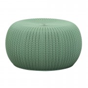 Curver Knit Poef Groen