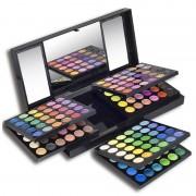 Trusa profesionala de farduri 180-1, 180 culori, 6 palete