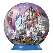 Ravensburger 54 Piece New York City Puzzleball (Times Square)