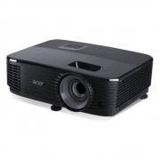 Proiector ACER X1123H, DLP 3D Ready, SVGA (800x600), 3600 lumeni, 20000:1,lampa 15000 ore, HDMI, USB, Composit,VGA, 2.4 Kg,telecomanda, culoare negru.