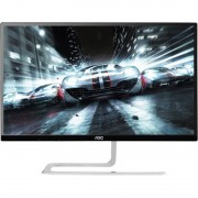Monitor LED AOC I2281FWH 21.5 inch 5ms Black Silver