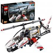 Lego technic 42057 set costruzioni elicottero ultraleggero