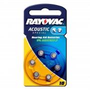 Varta Rayovac 10 Acoustic 1.4 V, 105mAh button cell