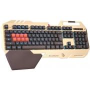 Клавиатура A4Tech Bloody B418 Gold-Black USB