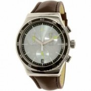 Ceas Swatch barbatesc Irony YVS429 maro Swiss Quartz