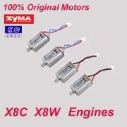 Generic 2 pcs of motors : 100% Original Syma X8C motor X8W engine X8C / X8W Syma spare parts X8C-10-11 4PCS/lot or 2 pcs/lot