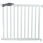 A3 Baby & Kids Safety Gate Oslo 71-102 cm Wood White 64634