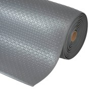 Šedá průmyslová protiúnavová rohož - délka 152 cm, šířka 91 cm a výška 1,27 cm