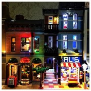 LED Lighting Set For Creator Lego 10246 Expert Detective's Office Building Blocks Toy (NOT Included The Model Set) by Lightaling