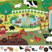 DJECO Puzzle FARMA 35 el. - zwierzątka wiejskie, DJ07591