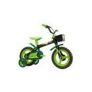 Bicicleta Infantil Arco Íris Aro 12 Track & Bikes - Preto/verde