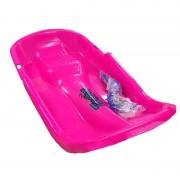 Merkloos Kinder plastic slee Bob-model roze - Action products