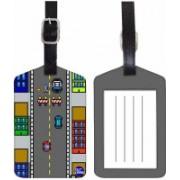 Nutcaseshop VIDEO GAME Luggage Tag(Multicolor)