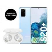 "Samsung Galaxy S20 Plus 128GB SM-G985F 6.7"" Dual Sim LTE Libre de Fabrica (Version Internacional Cloud Blue) Azul"