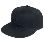 AC/DC Black Logo - Cap-schwarz - Offizielles Merchandise