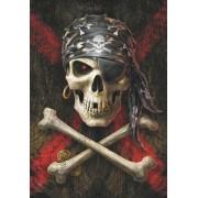 Anne Stokes Zászló - Pirate Skull - HFL1049