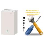 Pachet centrala condensatie Motan Green 24 - 24 KW cu manopera montaj si autorizare ISCIR