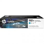 HP Original Tintenpatrone cyan L0R13A
