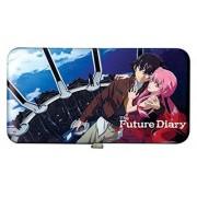 Great Eastern Entertainment Future Diary Yuno & Yukiteru portafolios con bisagras, Negro/Rojo, No Hay Talla