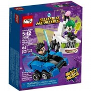 Lego dc comics super heroes mighty micros nightwing contro the joker