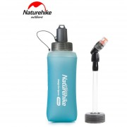 Premium Grade Naturehike silicona plegable Deporte Outdoor Botella de agua hervidor-Blue